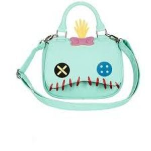 Disney Loungefly Stitch Scrump Crossbody Handbag